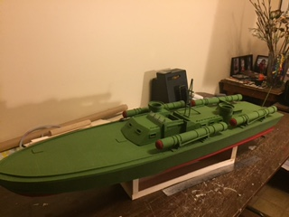 1:24 scale Elco 80' pt boat