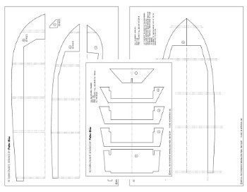 rc boat plans sheets examples