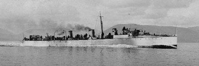 spanish torpedo boat destroyer furor 1896