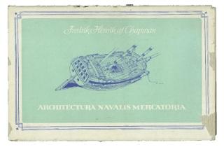 architectura navalis mercatoria facsimile cover