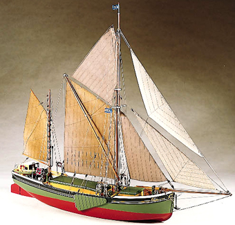 Sailing Barge Will Everard - Billing Models No. 601.