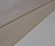 picture of balsa, basswood and lite-ply