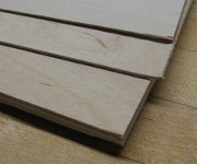 picture of various grades of baltic birch plywood