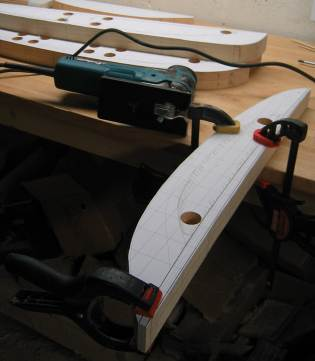 hollowing out using a jigsaw