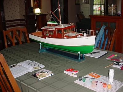 Bridgedeck Cruiser -The Lady Alice