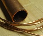 model building materials: copper