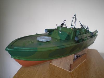 Elco 80ft PT Boat.