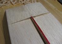 stern filler blocks sanded