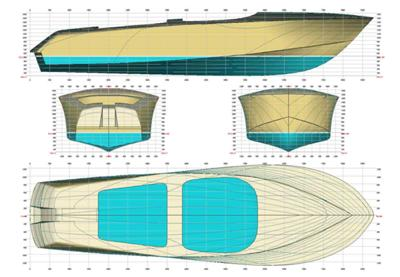 Bibe Easy To Free Boat Plans Riva