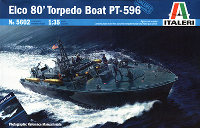italeri pt boat model box art