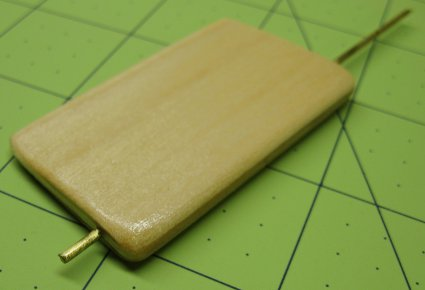 wood rudder tissue and dope the classic way of sealing balsa model boats