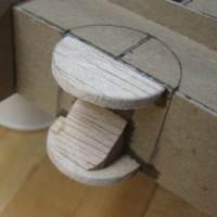 upper balsa half disc attached