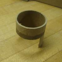 rear turret tube roughly cut to shape