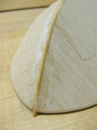keel strip detail