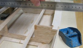 deck stringer taking shape