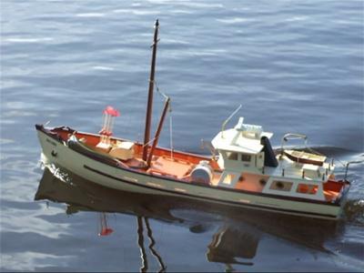 Scratch Built Trawler