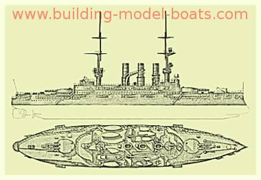 Model Ship Plans Blueprints