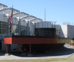 picture of uss monitor replica as built