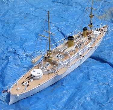 uss olympia finished model stern quarter view photo
