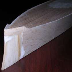 stem detail: balsa block fill photo