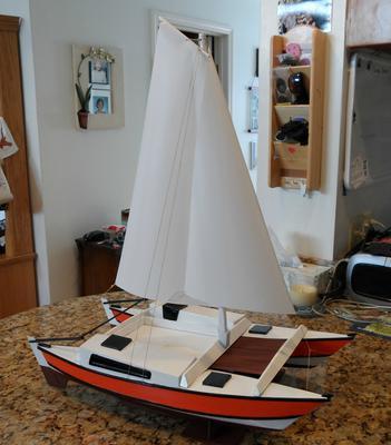 Wharram Tiki 30 Catamaran