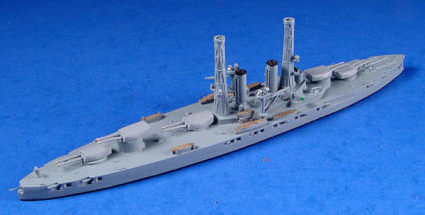 1:1250 scale warship