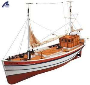 model of trawler hellen by artesania latina
