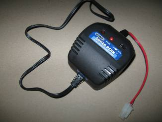 charger for nimh and nicad battery packs