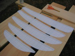 bread and butter hull templates