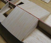 start planking bottom panels