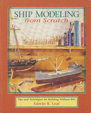 Ship Modeling from Scratch by Edwin B. Leaf is a good book to learn different construction techniques. It is 100% static models, so if you are looking for RC model boat construction, this isn't it.
