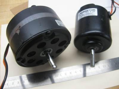 Automotive fan motors -