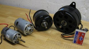 big permanent magnet motors suitable for model boats