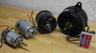 big permanent magnet motors suitable for model boats