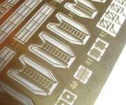 model building materials: brass