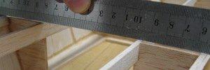 sanding the shear line of pt boat hull