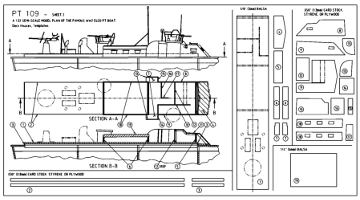 Pt Boat Plans Sheet Two