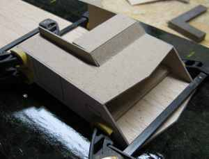 dry fitting deck house components