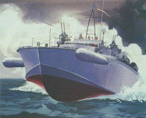 otto kuhni pt boat painting