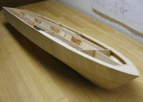 pt boat hull planked