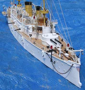 uss olympia model by roger kreiter photograph as finished