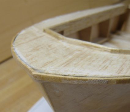 rib rails joint at the stem with a strong over lapping joint