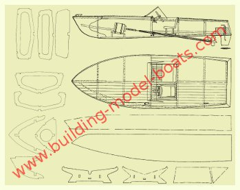 example of a model boat plan
