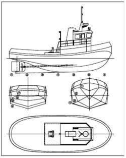 Model Boat Schematics on wiring diagram for sailing boat