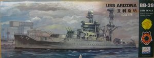 box art of the mini hobby uss arizona