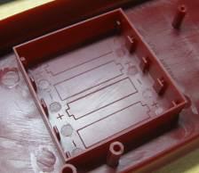 photo of battery compartment of the mini hobby uss arizona