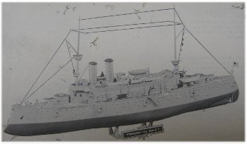 pyro uss maine model picture