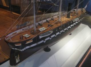 uss merrimack steam frigate